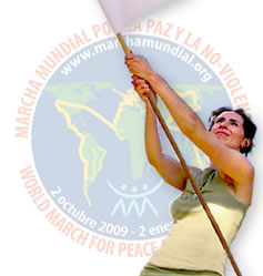 WORLD MARCH FOR PEACE AND NONVIOLENCE